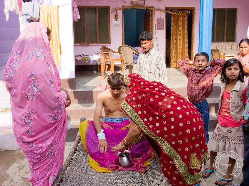 Hinduski ślub - sehra bandi