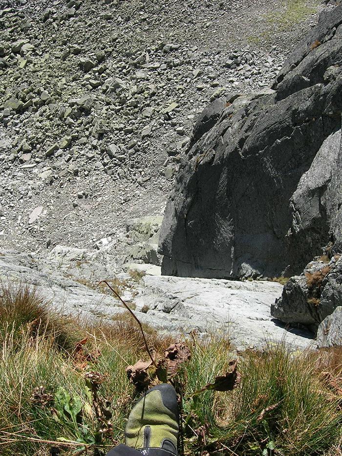 Widok z czwartego stanowiska na Aligatorze.