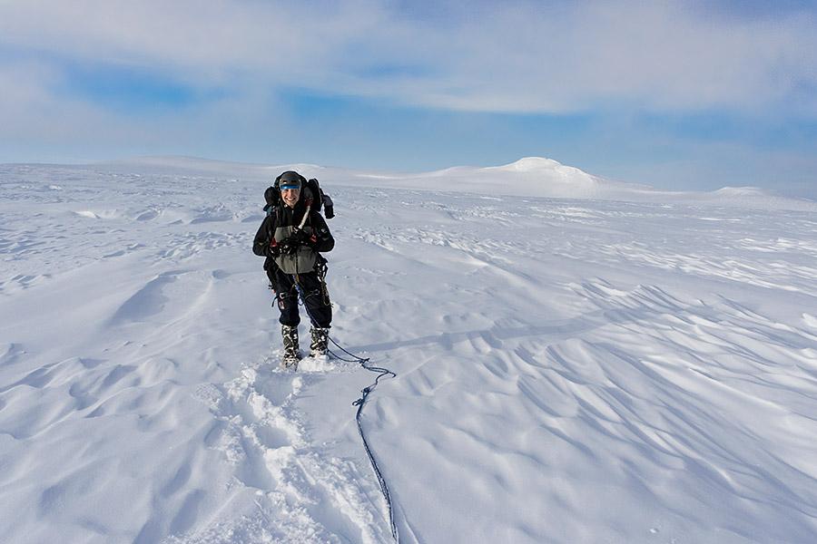 Gdzieś pośrodku Öræfajökull.