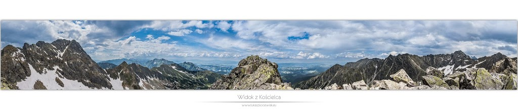 Orla Perć – Panorama z Kościelca