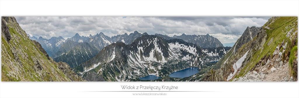Orla Perć – Widok z Przełęczy Krzyżne