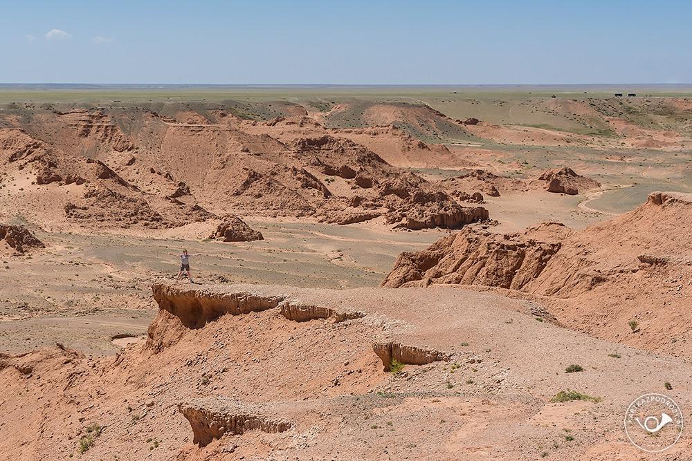 ...w porównaniu do jednej z największych pustyni na globie.