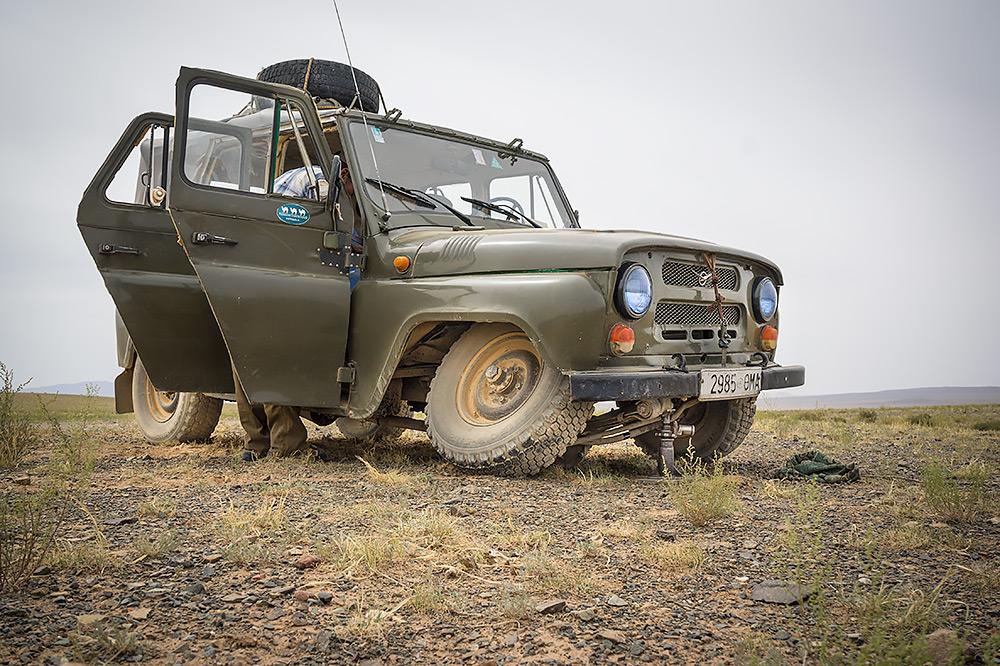 Wypadek na pustyni Gobi