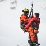 Wypadek wspinaczkowy w Storskaråsen