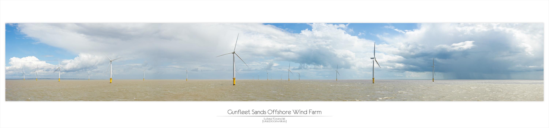 Kartka z Podróży - Farma Wiatrowa