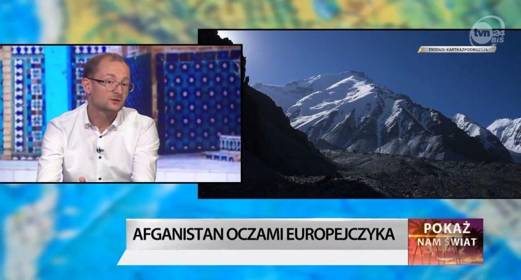 Łukasz Kocewiak w programie Pokaż nam Świat