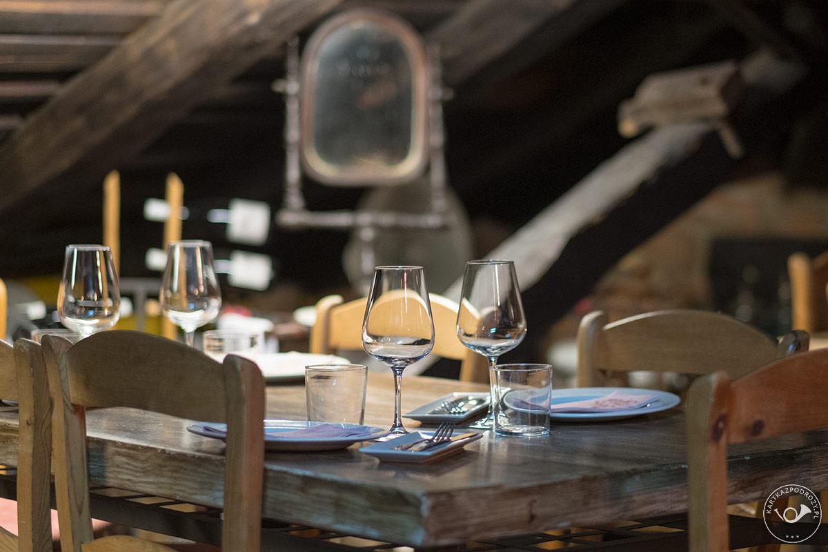 Klimatyczna restauracja w Potes