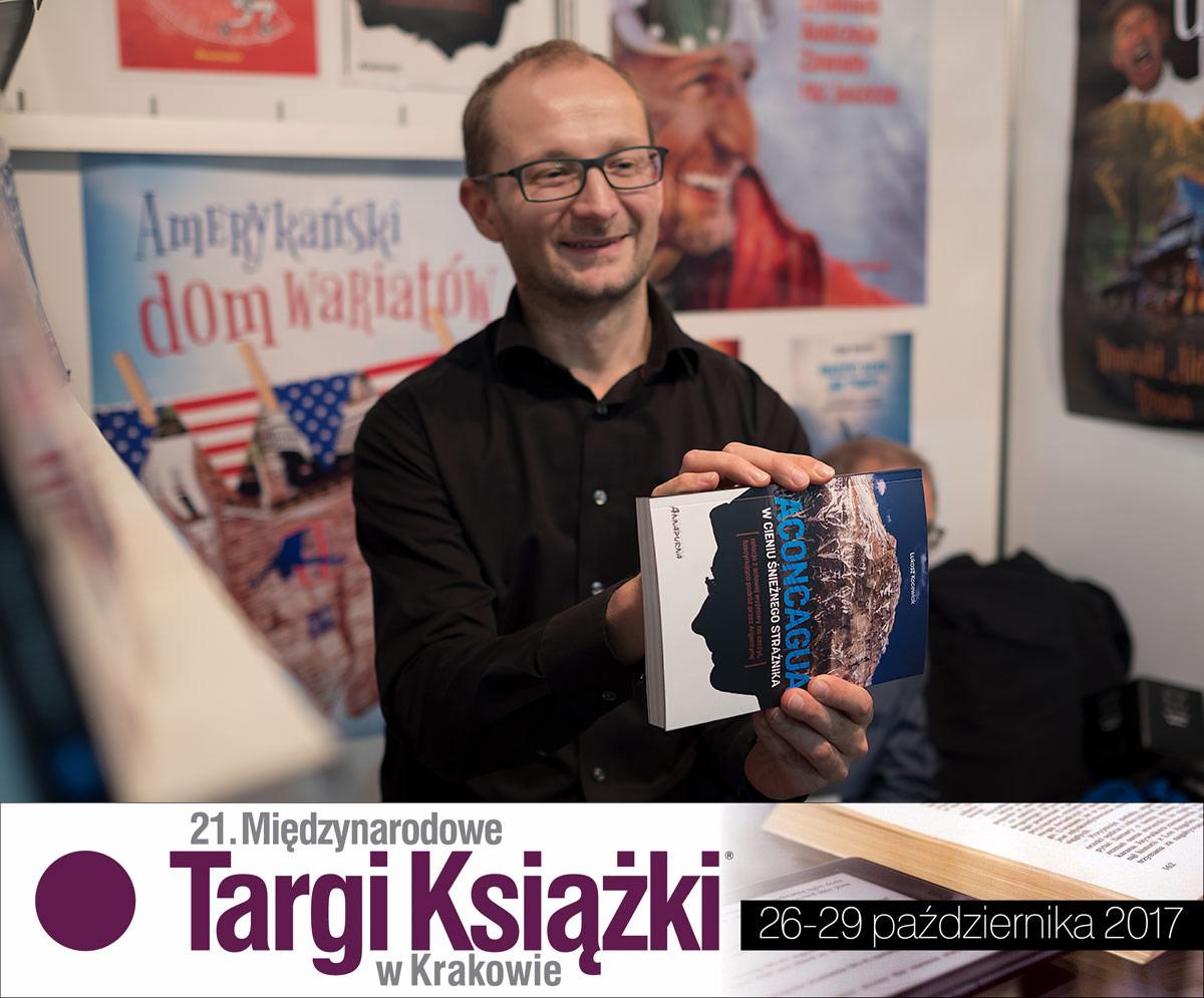 Wywiad na Międzynarodowych Targach Książki w Krakowie