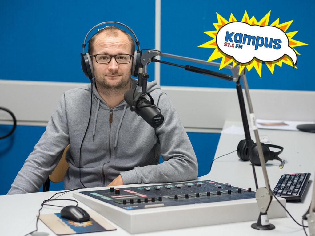 Łukasz Kocewiak opowiada o wyprawie na Denali w Radiu Kampus