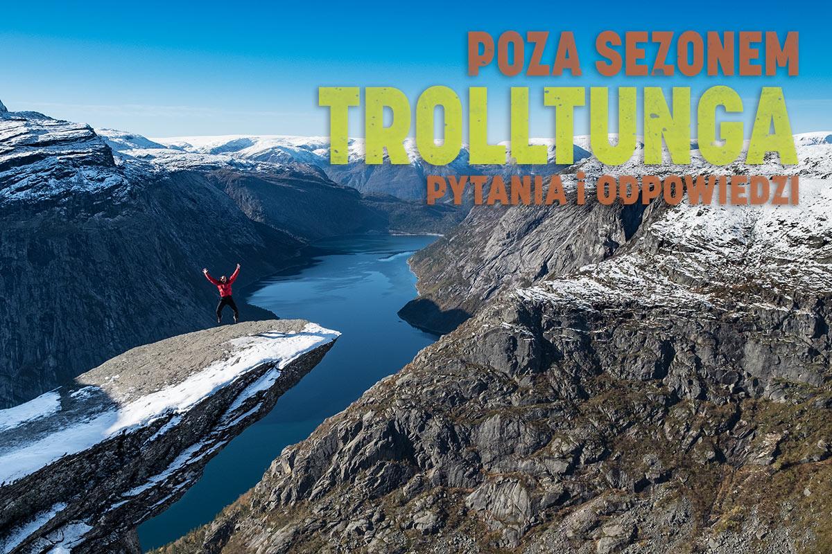 Trolltunga, czyli Język trolla w pytaniach i odpowiedziach