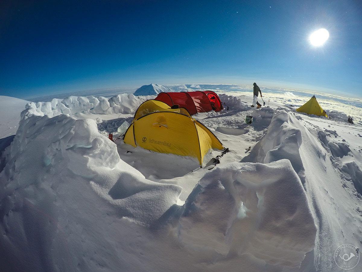 Wyprawa na Denali: w obozie piątym.
