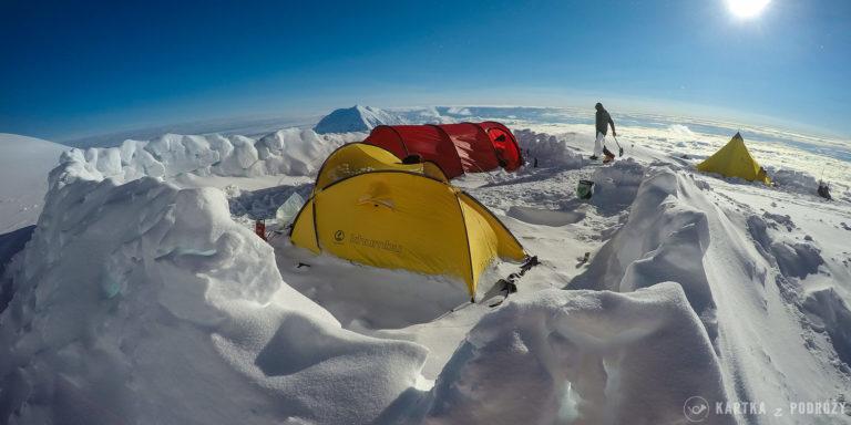 Wyprawa na Denali: obóz czwarty.