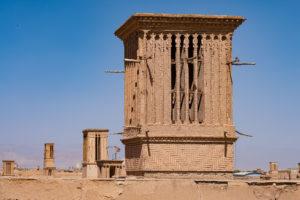 Łapacze wiatrów w Jazd